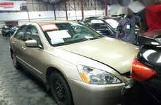 Clean Honda Accord 2006 Gold for sale