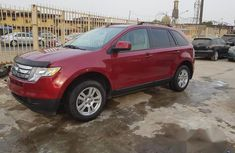 Clean Used Ford Edge 2008 Red for sale