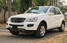 Mercedes Benz ML350 2007 White for sale