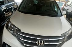 White Neatly Used Honda CR-V 2013 for sale