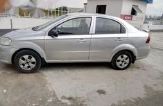 Clean Chevrolet Aveo 2009 Silver for sale
