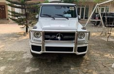 Mercedes-Benz G63 2015 Petrol Automatic White for sale