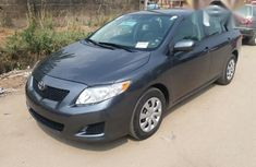 Clean Tokunbo Toyota Corolla 2010 Gray for sale