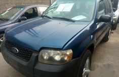 Ford Escape 2004 Blue For Sale