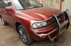 Toyota Highlander 2002 Red for sale