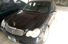 Mercedes-Benz C320 2005 Black for sale