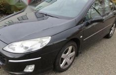 Tokunbo Peugeot 407 2006 Black for sale