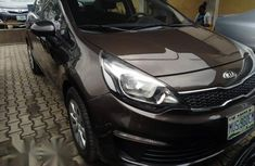 Reg Kia Rio 2013 Brown for sale