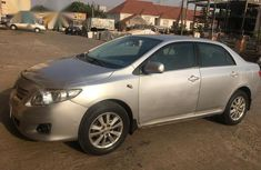 Clean Toyota Corolla 2011 Silver for sale
