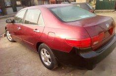 Nija Use Honda Accord 2005 Red for sale