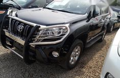 Clean Toyota Land Cruiser Prado 2015 Black for sale