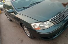 Toyota Avalon 2003 Green for sale