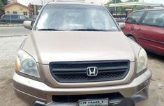 Honda Pilot 2002 Gold for sale