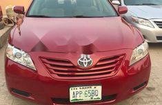 2009 Toyota Camry red automatic for sale