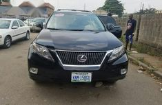 Lexus RX 350 2011 Black for sale