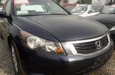 Clean Honda Accord 2009 Blue for sale