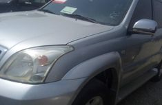 Toyota Land Cruiser Prado 2008 Silver for sale