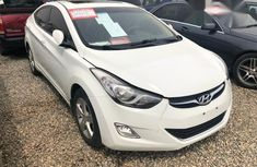 Hyundai Elantra 2013 White for sale
