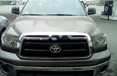 Toyota Tundra 2010 Petrol Automatic Grey/Silver for sale