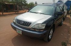 Lexus RX300 2002 Black for sale