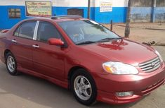 Neatly used  2004 Toyota Corolla Sport 1.8 engine power