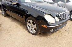 Mercedes-Benz E500 2003 Black for sale