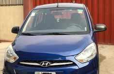 Hyundai I10 2012 Blue for sale