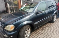 Mercedes-Benz ML500 2002 Gray for sale