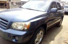 Toyota Highlander 2007 Blue for sale