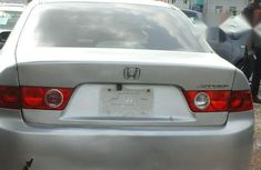 Clean HONDA Accord 2003 Silver for sale