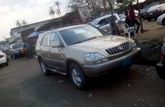 Lexus Rx300 2002 Gold for sale