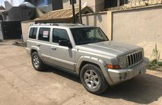 Jeep Commander 2008 Gold for sale