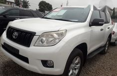 Toyota Land Cruiser Prado 2014 White for sale