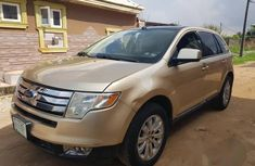 Nigerian Used Ford Edge 2007 Gold for sale