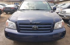 Foreign Toyota Highlander 2005 for sale