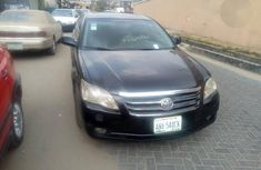 Neatly Registered Toyota Avalon 2008 Black for sale