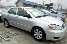Toyota Corolla 2007 Silver for sale
