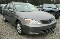 Clean direct tokunbo Toyota Camry 2003 Grey for sale