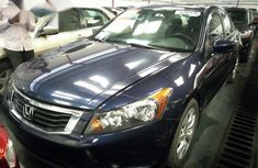 Tokunbo Honda Accord 2009 Blue for sale