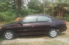 Nigerian Used Honda Civic 2004 Red for sale