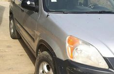 Honda CR-V 2004 Silver for sale