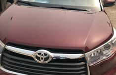 Used Toyota Highlander 2015 Red for sale
