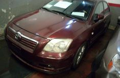 Toyota Avensis 2004 Red for sale