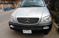 Mercedes-Benz Ml320 2003 Silver for sale