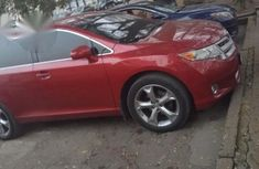 Toyota Venza 2010 Red for sale