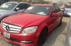 Clean Mercedes Benz C300 2010 Red for sale
