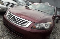 Clean Honda Accord 2010 Red for sale