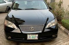 Clean Registered Lexus ES350 2007 Black for sale