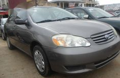 Used Toyota Corolla 2002 Gray for sale