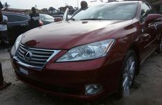 Lexus ES350 2012 Red for sale